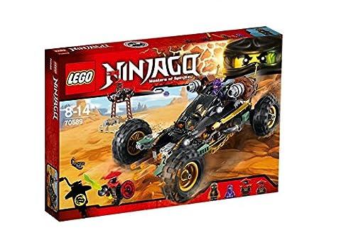 LEGO - 70589 - NINJAGO - Jeu de Construction - Le tout-terrain de combat