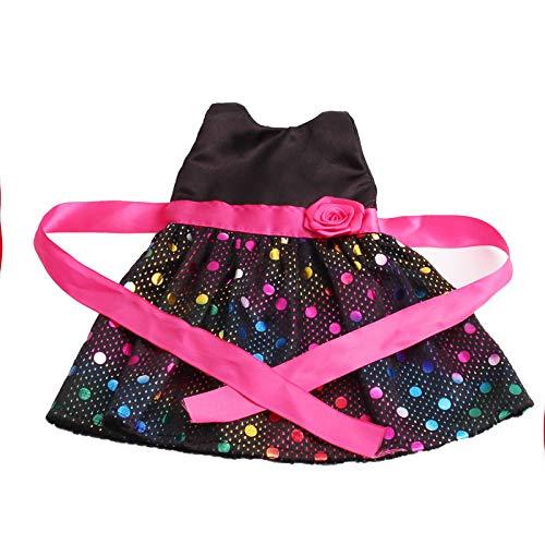 Zeagro Puppenkleidung, Puppenkleidung Kleid Outfit Kleidung Set für 18 Zoll American Girl Doll Geschenk
