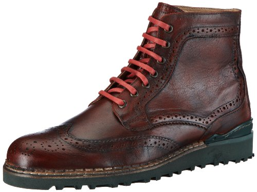 NOBRAND Mc Lean, Stivali uomo rosso (Rot (Rust))