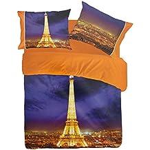 Pierre Cardin Completo sábanas Paris by Night Digital 4d Matrimonio P121