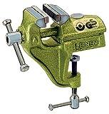 LEINEN Parallel-Schraubstock 60 mm mit Bügel Farbe grün