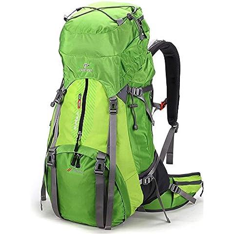 A new day-All'aperto alpinismo borsa uomini di zaino campeggio outdoor L 50 e le donne che viaggiano spalle borse campeggio zaino , green
