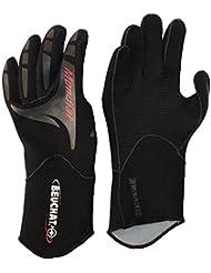 Gants mondiale 2mm–Titanium–Supratex–Noir Taille XS/S