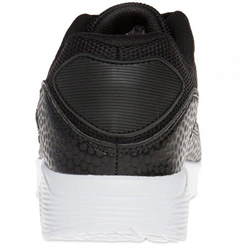 CASPAR SSN006 Damen Sneaker Schwarz