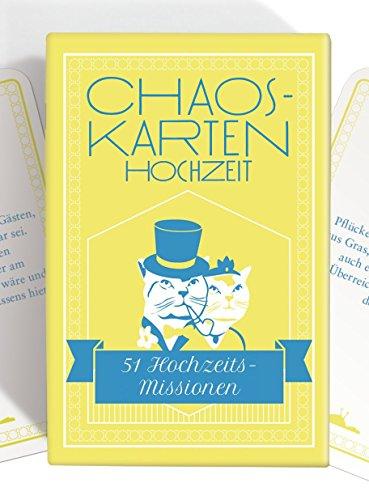 Chaoskarten Hochzeitsspiel - Das Original - 51 Aufgaben für eine lustige Hochzeit
