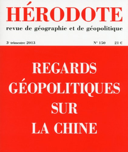 Regards gopolitiques sur la Chine