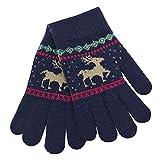 Weihnachten Baby,Covermason Kinder Winter Warm Handschuhe Karikatur Hirsch Finger Fäustlinge Gestrickt Handschuhe