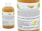 1 flacone Liquido Moringa Viso e Bagnoschiuma 100% Naturale senza SLS 250ml