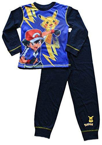 ThePyjamaFactory - Pijama dos piezas - para niño Azul azul 9-10 Años