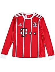 adidas Kinder FC Bayern München Home Trikot LS 17/18