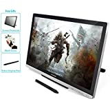 Huion GT-220 V2 Silber Grafiktablet mit Display 21.5 Inch Interaktive Zeichnung Monitor Display IPS Panel HD Auflösung (1920x1080)