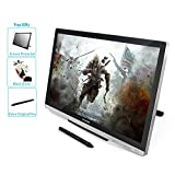 Huion GT-220V2 Silver Graphics Tablet with Display 21.5 Inch Interactive Drawing Monitor Display IPS Panel HD Resolution(1920x1080)