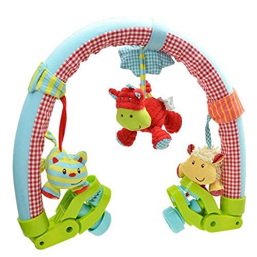 True-Ying - Arco per passeggino per neonati e bambini, stimolano i sensi e le abilità motorie del bambino