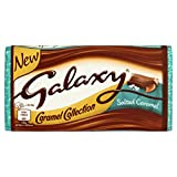 Galaxy Salted Caramel Chocolate Block 135 g