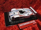 400010938 Minichamps Audi R8 Petit Le Mans Road Atlanta 2001 Herbert/Wallace 1:43