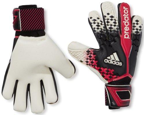 Predator Torwart Pro Adidas Handschuhe (adidas Herren Torwarthandschuhe Predator Pro, Black/Wht/Vivber, 12, G84142)