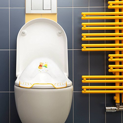 "keeeper ""winnie the pooh"" kinder-toilettensitz mit anti-rutsch-funktion weiß - 7"