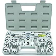 Rolson Tools 34229 - Juego de machos y terrajas  (40 piezas)