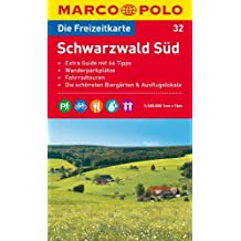 MARCO POLO Freizeitkarte Schwarzwald Süd 1:100.000