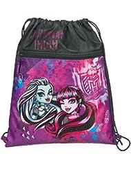 Undercover bolsa para zapatillas Monster High, 41 x 32 cm aproximadamente bolsa de deporte, 6 litros, colour morado