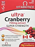 Vitabiotics Ultra Cranberry - 30 Tablets by VITABIOTICS LTD
