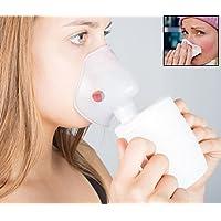 Preisvergleich für Heim & Büro Inhalator | zur Inhalation bei Erkältung und Husten | 250 ml | kompakt | Bronchitis