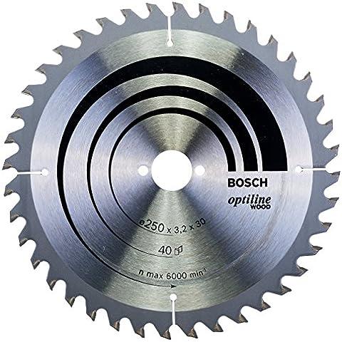 Bosch 2608640670 - Lama Per Sega Circolare, Serie Optiline Per