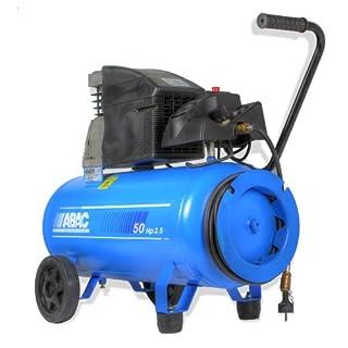 Abac Montage Kompressor mit Schlauchtrommel 1,8 kW - 50L Tank - D260