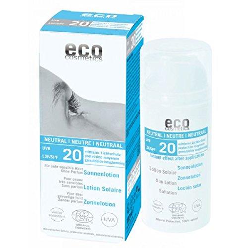 eco cosmetics: Sonnenlotion LSF 20 neutral (100 ml)