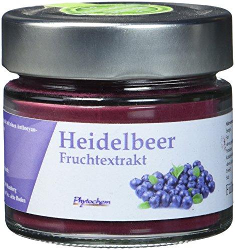HEIDELBEER EXTRAKT | reiner Heidelbeerextrakt mit 0,8% Anthocyangehalt | 70 Gramm | Premium Qualität aus Deutschland