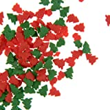 Red and Green Tree Sugar Sprinkles / Christmas (50g)
