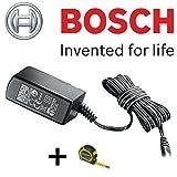 Bosch Original Ersatz-Akkuladegerät mit britischem 3-Pol-Stecker, passend für Bosch ASB 10.8-Li Schere / KEO Säge / AGS Schere, Bosch Produktnummer 2609003932