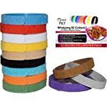 Whelping ID Collars for Newborn Puppies and Kittens - Easy to Identify and Monitor Each - Double Sided Fabric, Making… 8