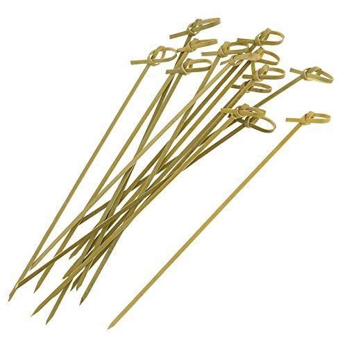 Royal Bamboo Knot Cocktail & Hors' D'oeuvre Picks - Set of 100 size 7 Inch by Royal Hors Doeuvre-set