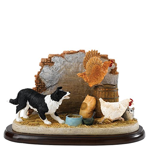 enesco-soprammobile-decorativo-double-jeopardy-james-herriot-multicolore-bunt