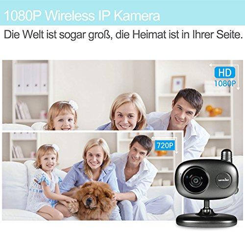 Wansview 1080P Wlan WiFi Wireless IP Sicherheits kamera mit Temperatur-und Feuchtigkeitssensor K1 - 6