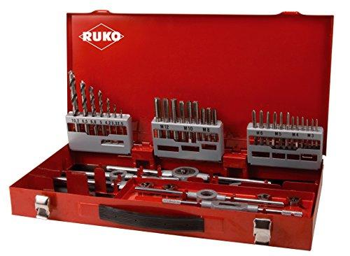 Ruko 245030 - Juego herramienta roscar din 352 hss(caja metálico/a 44u)