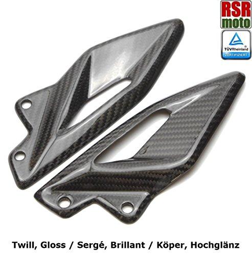 Tg-kick (RSR Moto Triumph 765 Street Triple Carbon Fersenschutz)