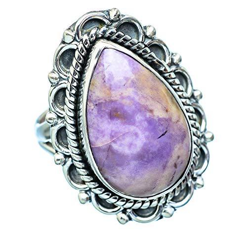 Tiffany Stone, Tiffany Stein 925 Sterling Silber Ring 8.25