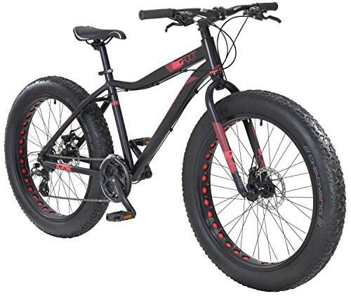 tretwerk DIREKT gute Räder Bigfoot 1.0 26 Zoll Fatbike, Jungen-Herren-Fahrrad 24 Gang Kettenschaltung