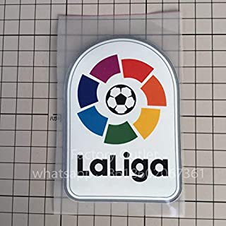 Generic top Quality Plastic and Embroidery Big LFP Patch, Embroidered La Liga Patch Soccer Patch Badges FVEEF Free Ship: 1 pcs