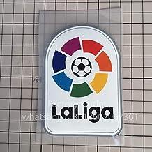 Desconocido Parche de Parche de fútbol de la Liga Bordado de plástico genérico Bordado Grande LFP