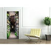 Poster Autoadesivo porta e pareti - CONTINUITÀ - murale foglio di porta