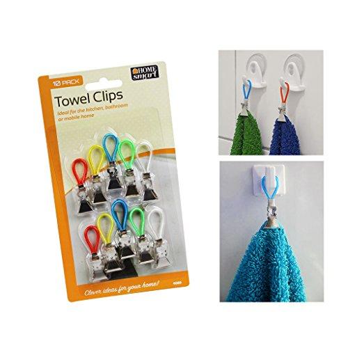Confezione di 10 strofinacci da cucina Storage clip clips Holder Hanger