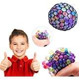 ShopNGift Mesh Squishy Stress Relief Squeeze Balls Fun, Non-toxic, birthday party favors , For Kids & Adults