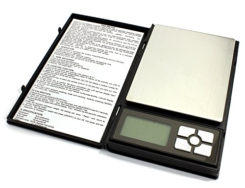 Integy RC Model Hop-ups C25019 6 Modes Digital Scale 1-2000g Max 0.1g Resolution (Pan: 90x115mm)