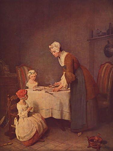 Lais Puzzle Jean-Baptiste Siméon Chardin - La prière 2000 Pieces | Impeccable