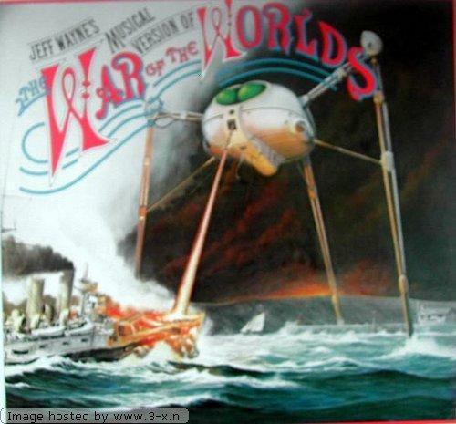 Jeff Wayne - Jeff Wayne\'s Musical Version Of The War Of The Worlds - CBS