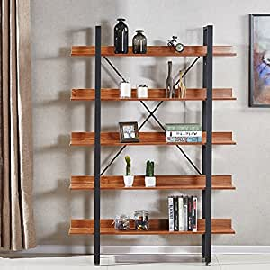 tag res style industriel en bois fonc 170cm ekero. Black Bedroom Furniture Sets. Home Design Ideas