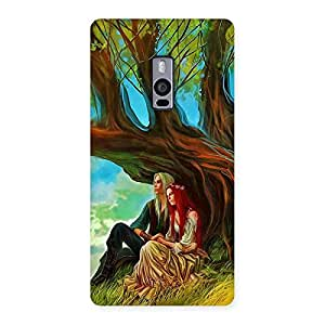 Gorgeous Couple Under Tree Multicolor Back Case Cover for OnePlus Two